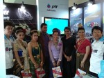 Company Chairman at PTT Lubricants Stall in Thai Trade Show 2013